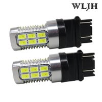 WLJH Switchback Dual Amber White 3157 3057 3757 LED 5630 for...