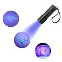 395-400NM UV-Licht UV-Schwarzlicht Taschenlampen UV-Taschenlampe Urin-Fleckendetektor 12 LED-UV-Taschenlampen