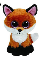 Ty Beanie Boos Big Eyes Plush Toy Doll Fox