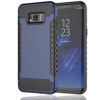 Для Samsung S8 S8 Plus сотовый телефон Cases PC + TPU Double Protection 100% Fit Original Phone Six Color DHL Free