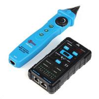 Freeshipping Çok fonksiyonlu El Ağ Lan kablosu Test Cihazı rj45 rj11 Ethernet Tel Tracker Bulucu Metre Telefon Hattı Testi