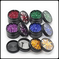 TOP Quality Herb Grinders 63mm Aluminium Alloy Crusher Grind...