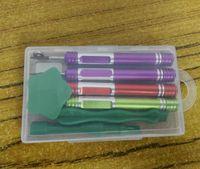 20 jogos / lote de alta qualidade 8 em 1 kit de chave de fenda screwdriver ferramenta de reparo aberto para iphone 7 7 plus com pacote