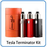 Kit de démarrage Tesla Terminator 90W ou avec réservoir Antman 22 RDA simple 18650 Cell GX2 / 4 0268057-1