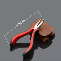 480pcs/lot wholesale hair extension pliers hair extension tools straight and curved pliers Hand Tools free shipping 2017083104