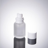 50ML Frost Glass Cosmetic Bottles, 1. 7OZ Glass Lotion Bottle...