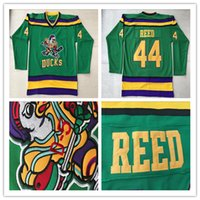 44 Fulton Reed Jersey 1996- 06 Anaheim Mighty Ducks Movie Jer...