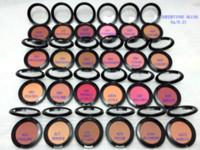 New 파우더 Shimmer Blush 24 color BLUSH 거울 없음 및 brus 없음 6G DHL 무료 배송