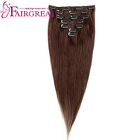 Brazilian Peruvian Indian Malaysian Straight Hair Dark Brown...