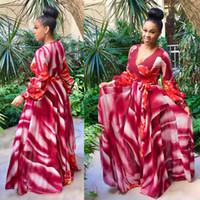 2017 profond V sexy été maxi longue tenue décontractée vêtements africains bazin riche robe imprimé africain robes robes mujer lâche brillant robe dashiki