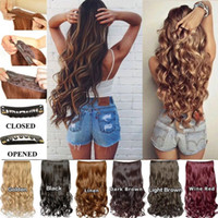 16inch 80g with 5clips synthetic hair high temprature fiber ...