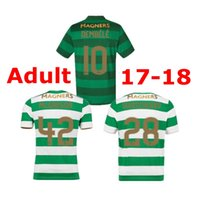 4abb99c3a ... 2017 Scotland league Celtic soccer jerseys AWAY Armstrong GRIFFITHS  LUSTIG SINCLAIR BITTON BROWN 17 best quality ...
