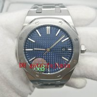 watches men luxury brand blue dial aaa watch 42mm size siliv...