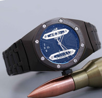 crime premium brand clock watch date men' s diving watch...