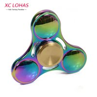 4 Minutes Rotation Metal Fidget Spinner Anti Stress Hand Spi...