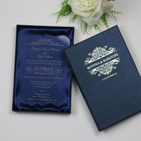 60  Acrylic Wedding Invitation Personalized Engagement Marriage Wedding  Invitation Card With Boxes