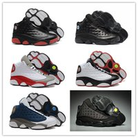 Wholesale with box 13 XIII Black Cat All Grey Toe Stars 13s ...