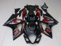 Kit carena per Suzuki GSXR1000 07 08 set carene moto rosso nero vino GSXR1000 2007 2008 OT01