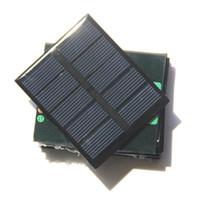 عالية الجودة 0.5 واط 2.5 فولت الشمسية لوحة الخلايا الشمسية وحدة diy لعبة لوحة الكريستالات الخلايا الشمسية لوحة الايبوكسي 58 * 70 * 3 ملليمتر 5 قطعة / الوحدة مجانية