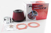 RASTP -APEXI Performance Mushroomhead aspiration universelle Filtre à air 75mm double Entonnoir Adaptateur ont en stock RS-OFI011