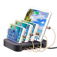 Detachable Universal Multi- Port USB Charging Station 24W 4- P...