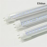 Tubos T8 LED compatibles balastos 2 pies 3 pies AC85-265V 10W 14W G13 luces fluorescentes 2835SMD 48LEDs bulbos de lámparas directa Shenzhen, China Facotry