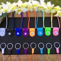 제조 업체는 휴대 전화 매는 밧줄을 창조적 인 분리형 매달려 목 슬링 링 버클 판매