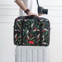 방수 대용량 여행 가방 여행 액세서리 가방 더플 휴대용 나일론 여행 가방 접이식 더플 백
