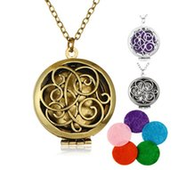Censer Aromatherapy Locket Essential Oil Diffuser Floating H...