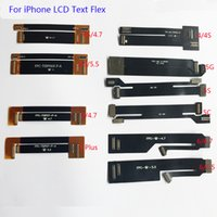 10PCS / 많은 LCD 디스플레이 디지타이저 터치 스크린 확장 테스터 테스트 플렉스 케이블 아이폰 4 4S 5 5C 5S 6 6 6S 6S 7 플러스 확장 테스트