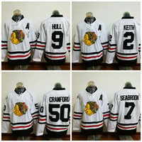 Chicago Blackhawks # 2 para hombre Duncan Keith 2017 Winter Classic Premier Jersey Duncan Keith Chicago Blackhawks Jersey de calidad superior