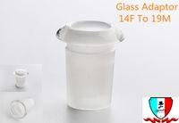Adaptador de bucha de vidro 14mm19mm, 14mm Fêmea Para 19mm Adaptador Masculino De Vidro De Borosilicato De Alta Convient para usar