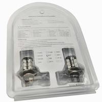 2pcs / lot RGB H11 H8 Wireless 1156 7440 9006 H7 / HB4 9005 / HB3 H4 27-SMD 5050 LED bombillas para niebla corrientes diurnas DRL de las luces
