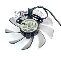Placa de vídeo fanNew ventilador da Placa Gráfica T129215SU 4 P Termostato Blade diâmetro 85mm 12 V 0.50A 85mm diâmetro
