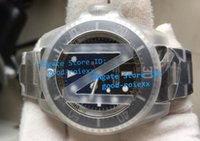 Top Noob Factory V7 Mens Automatic Blue Black Dial Watch Men...