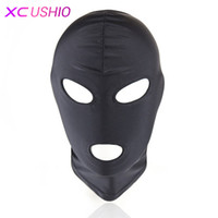 Lightweight Elastic Spandex Sex Mask Head Hood Fetish Headge...