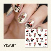 Wholesale- YZWLE 1 Piece Hot Sale Water Transfer Nails Art S...