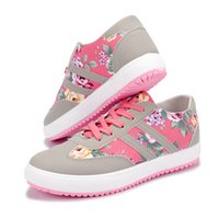 Women casual shoes printed casual shoes women canvas shoes 2...