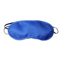 Óculos de proteção Dormir Máscaras Olho Capa Noite Suave Sono Viagem Venda Sombra Azul para viagem, bem como a casa