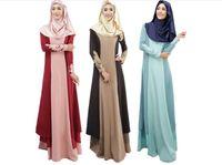 20 adet Abaya türk kadınlar giyim müslüman elbise İslam jilbabs ve abayas musulmane vestidos longos türkiye başörtüsü giysi dubai kaftan M056