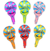 50 * 30 cm Windmühle Hand folienballons lollipop stick globos party decoracao festa infantil ballons hochzeit liefert