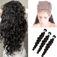 22. 5x4x2' ' Silk Base 360 Frontal Closure With Bund...