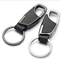 Nouveaux porte-clés en cuir de métal de qualité Porte-clés innovants de voiture