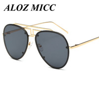 ALOZ MICC Brand Irregular Bridge of The Nose Men' s Pilo...