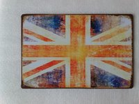 UK United Kingdom Flag tin sign Vintage home Bar Pub Hotel R...