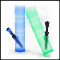 Silicone Bongs Silica Hookah Shisha silicone water pipe Port...
