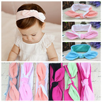 28 Colors INS Headbands for Baby Girls Twist Knot Turban Pho...