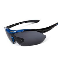المهنية الاستقطاب الدراجات نظارات نظارات الدراجة في الهواء الطلق الرياضة دراجة النظارات دراجة نارية الرياضة نظارات 100 ٪ UV400 بالجملة