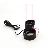 Двойной контакт электро пенис ремень электро пенис проводящая Лента искусственная кожа петух кольцо электрическим током секс-игрушки DIY аксессуары