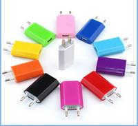 Красочные прямые зарядные устройства универсальные зарядные устройства для США ЕС Plug адаптер переменного тока зарядное устройство Зарядное устройство стены